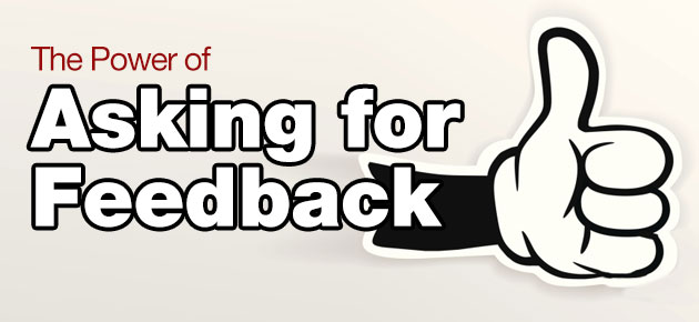 Photo of The Power of Asking for Feedback