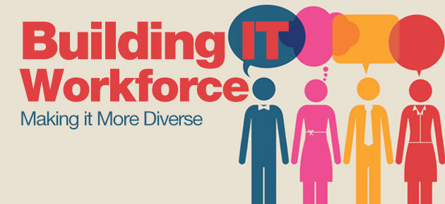Photo of Building IT Workforce: Making it More Diverse
