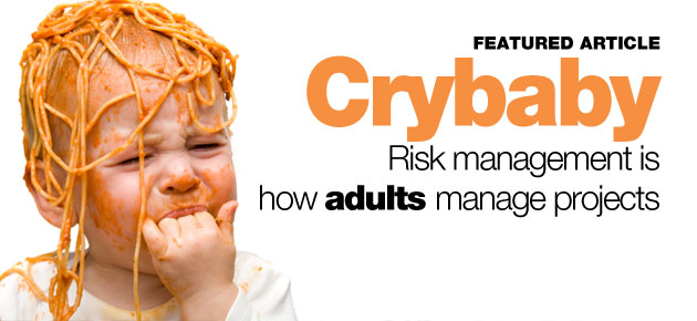 Photo of Risk management is how adults manage projects!