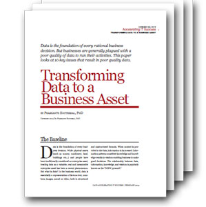Photo of Transforming Data to a Business Asset