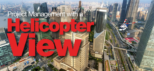 Project Management With A Helicopter View Aits Cai S