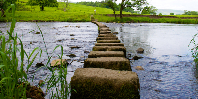Photo of Stepping Stones in a Project Management Career