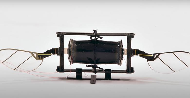 Top Researchers Develop Insect-like Drones